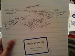 Notes from Carolina Girl Geeks Dinner!