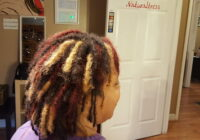 The first time I dyed my locs.